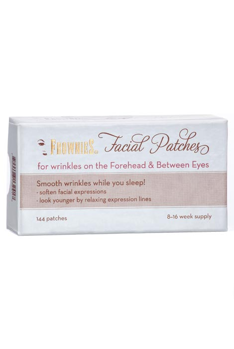 Frownies® Forehead And Between Eyes Facial Patches - View 1