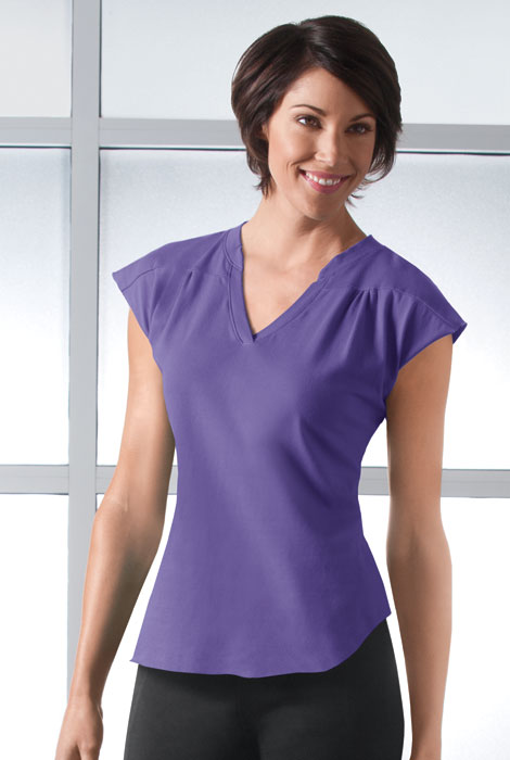 ActivComfort™ Activewear V-Neck Top