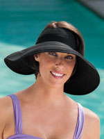 Swim Accessories - Roll Up Sun Visor