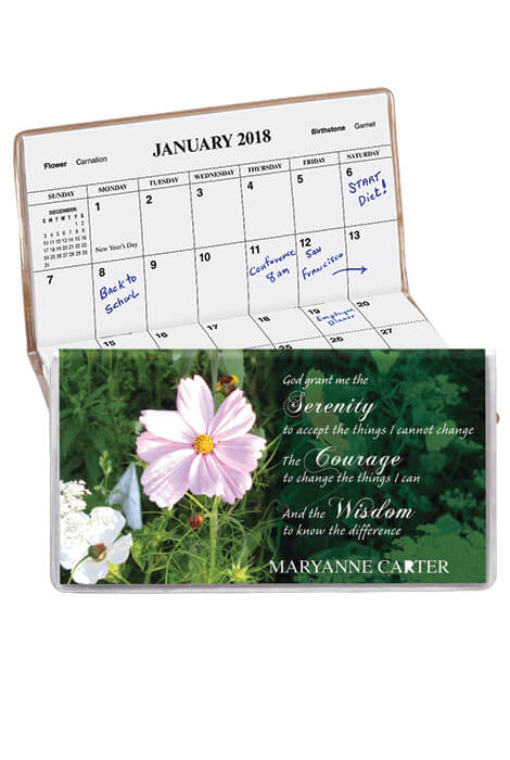 Serenity Prayer 2 Year Pocket Calendar