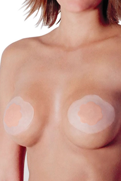 Bring It Up® Breast Lift And Nipple Cover - View 1