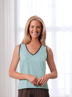 Tops & Dresses - Sleeveless Top with Ionx® Technology, S-XL