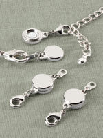 Jewelry Solutions - Locking Magnetic Jewelry Clasps - Set Of 4