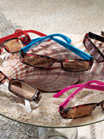 Eye Care & Eyewear - Tortoise Sunglass Readers