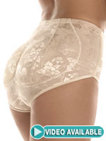 Plus Sizes - Foxy Fanny Padded Panty