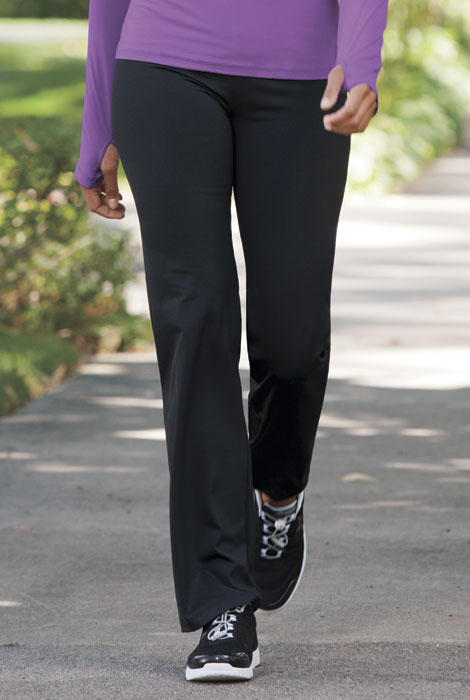 Slimming Performance Bootcut Pant - View 1