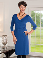 Exclusively Here - Wrap Dress With Tummy Tamer