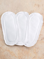 Incontinence - Reusable Incontinence Pads - Set Of 3