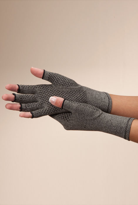 Compression Gloves with Grippers