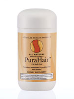 Hair Regrowth & Hair Loss - Puralex PuraHair™ Hair Growth Vitamins - 120 Count