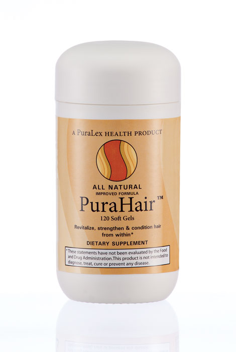 Puralex PuraHair™ Hair Growth Vitamins - 120 Count