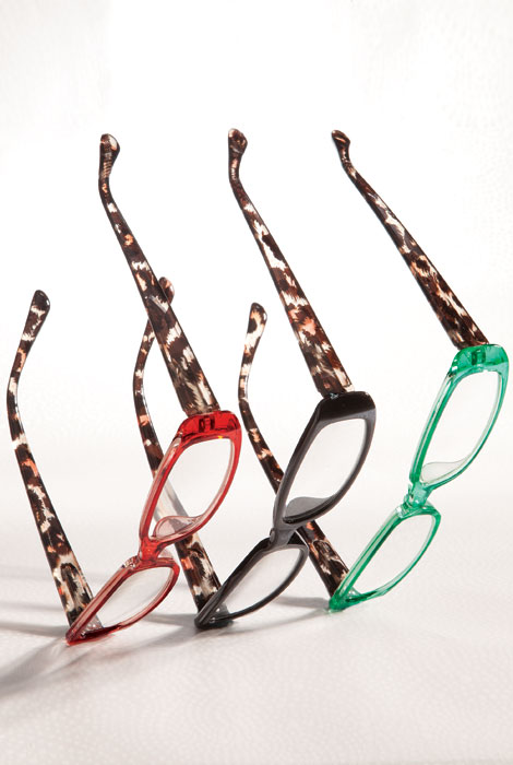Tortoise Shell Reading Glasses - View 1