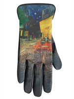 Gifts for Her: The Trendsetter - Sheepskin Painted Gloves