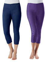 Bottoms - Tummy Control Capris