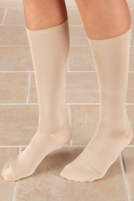 Knee High Compression Socks, 8-15mmHG