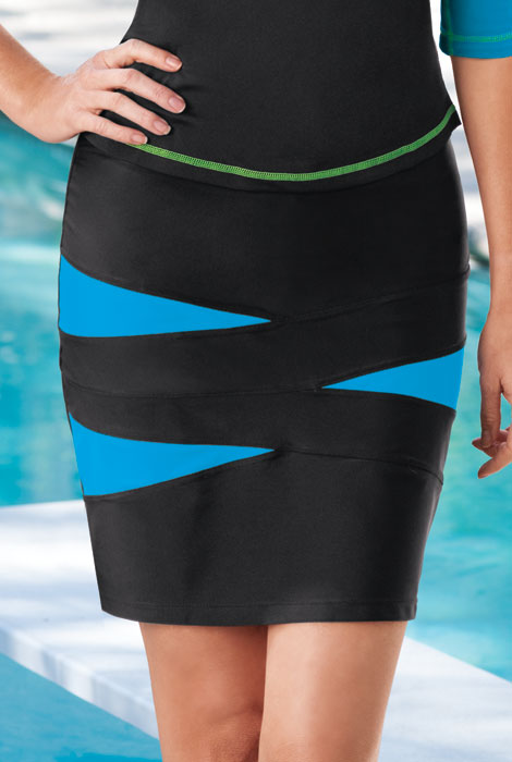 HydroChic™ Spliced Skirt - View 1
