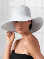 Swim Accessories - Micro Terry® Sun Protection Hat