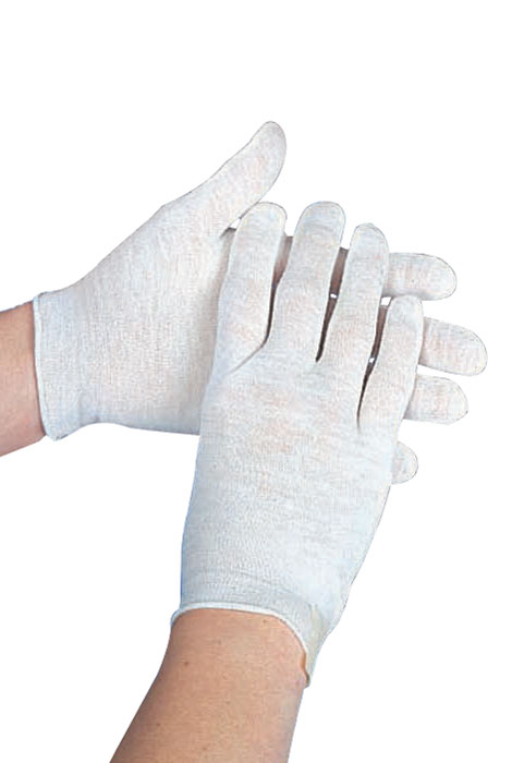 Cotton Gloves, Set of 3 - View 1