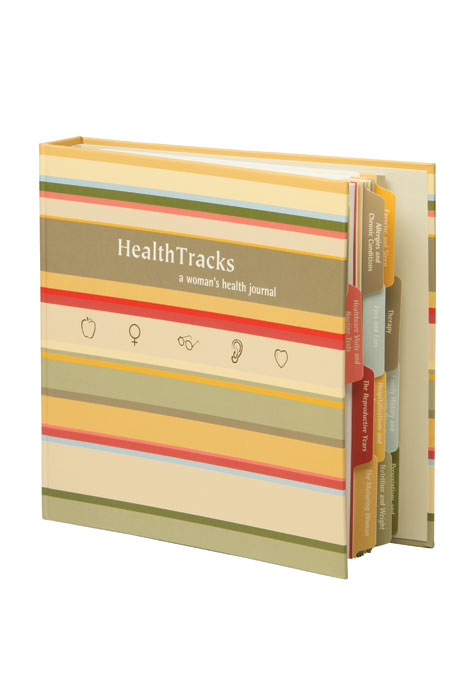Health Tracks - A Woman's Health Journal - View 1