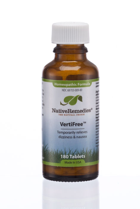 NativeRemedies® VertiFree™ - 180 Tablets - View 1