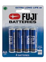 Traditional Vibrators - Fuji AA Batteries - 4-Pack