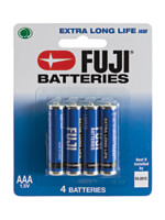 Anal Play - Fuji AAA Batteries - 4-Pack