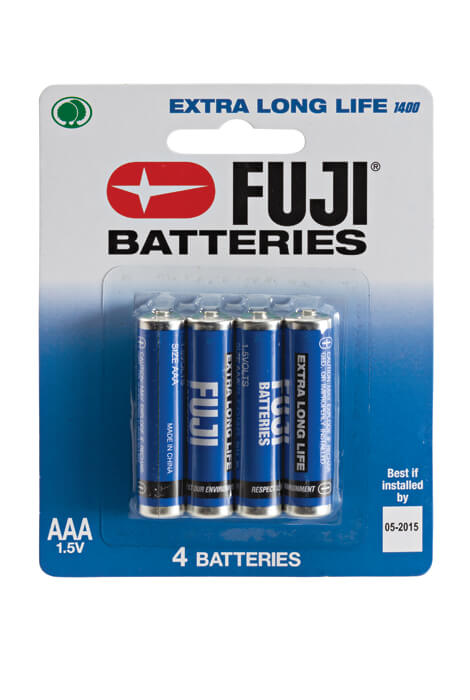 Fuji AAA Batteries - 4-Pack - View 1