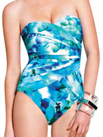 View All Sale - Gottex® Fiji Heart Shaped Bandeau Suit