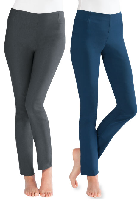 Slimfitters™ Skinny Pant with Tummy Tamer - View 1