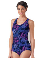 View All Clothing & Swim - Lap Suit - Print