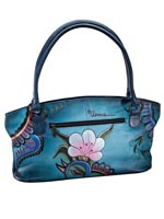 Handbags & Belts - Anna By Anuschka™ Handpainted Leather Zip Tote