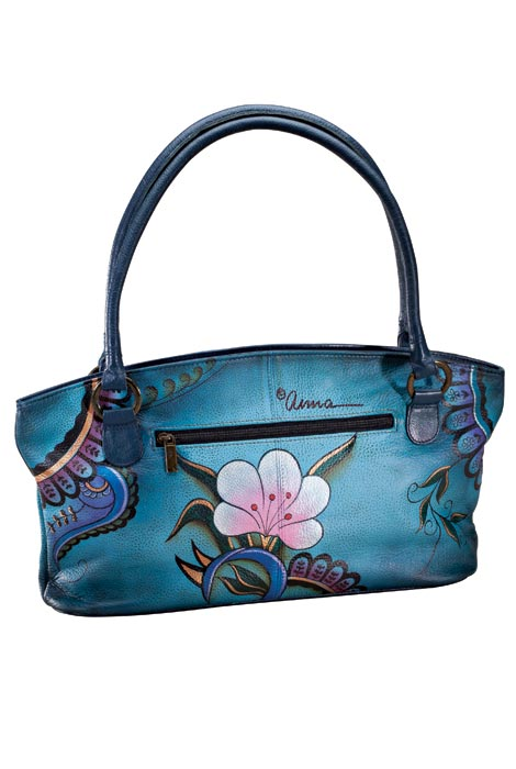Anna By Anuschka™ Handpainted Leather Zip Tote