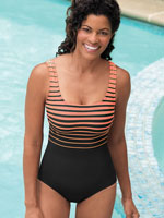 Swim Sale - Reebok™ Gold Medley Tank Suit