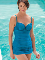 Clothing & Swim - Gottex® Shirred Beauty Swim Dress