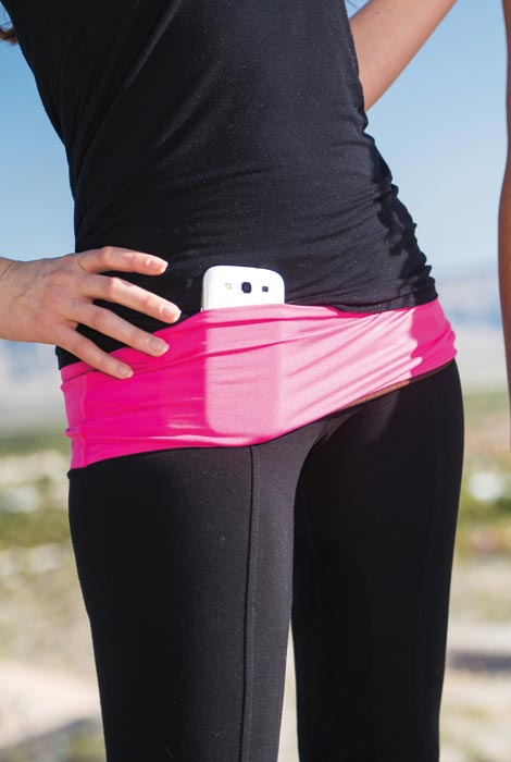 Hands Free Multi Pocket Hip Band