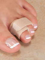 Foot Care - Toe Straightening Wraps - Set of 2