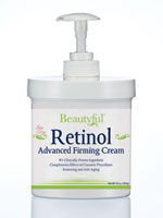 Retinol Products - Beautyful™ Retinol Advanced Firming Cream - 16 Oz.