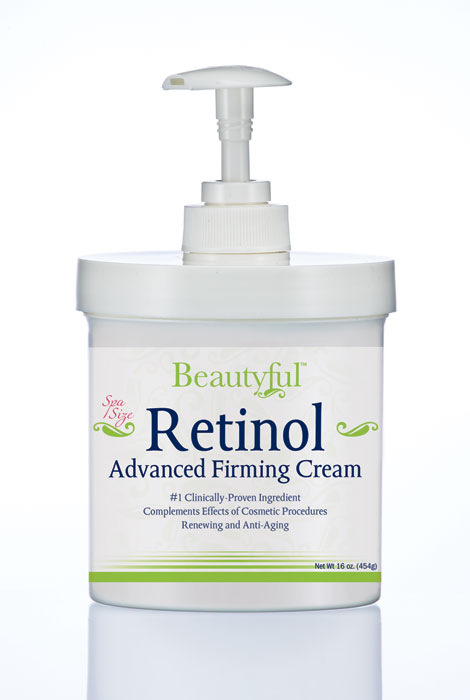 Beautyful™ Retinol Advanced Firming Cream - 16 Oz.