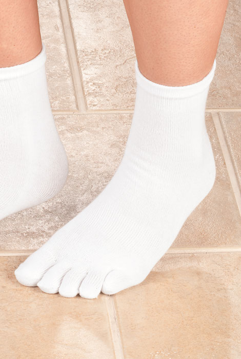 Toe Socks - View 1