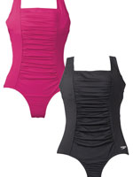 Athletic Swimwear - Speedo® Endurance Shirred Solid Tank Suit