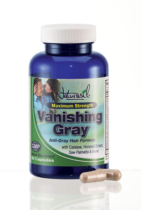 Naturasil® Vanishing Gray Hair Capsules - View 1