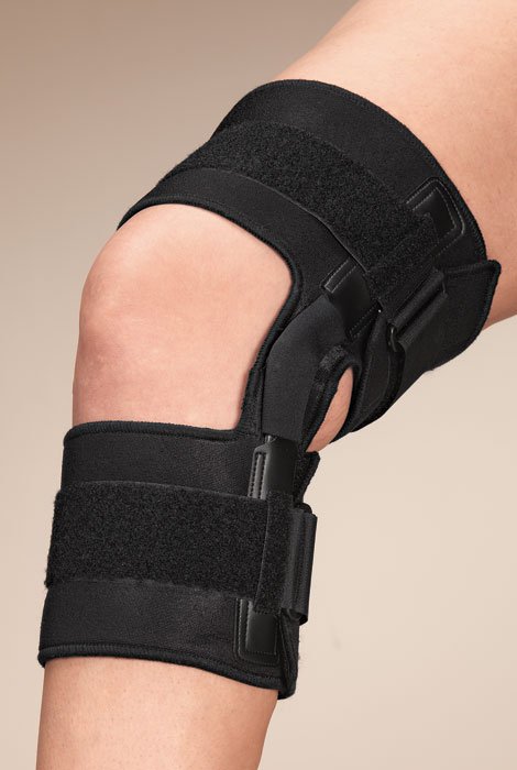 Knee Brace With Metal Support - View 1