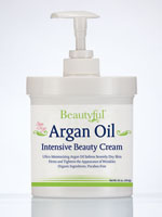 Cleansers, Exfoliators & Moisturizers - Beautyful™ Argan Oil Intensive Beauty Cream - 16 oz.