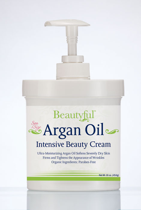Beautyful™ Argan Oil Intensive Beauty Cream 16oz. - View 1
