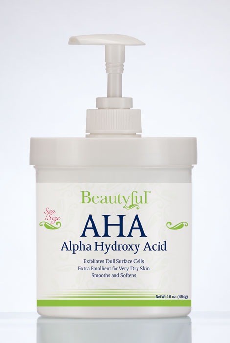 Beautyful™ AHA Alpha Hydroxy Acid Cream - 16 oz.