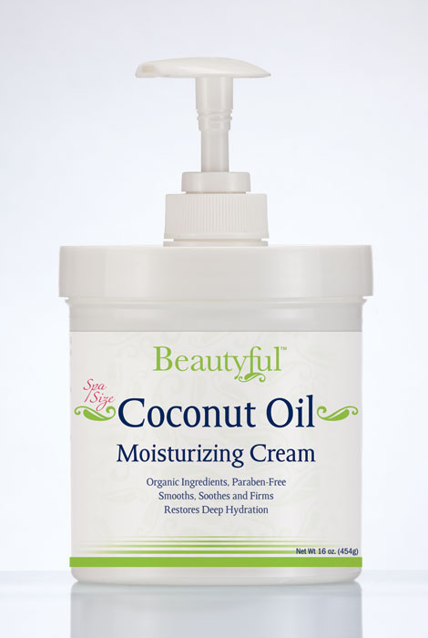 Coconut Oil Moisturizing Cream - 16 oz.