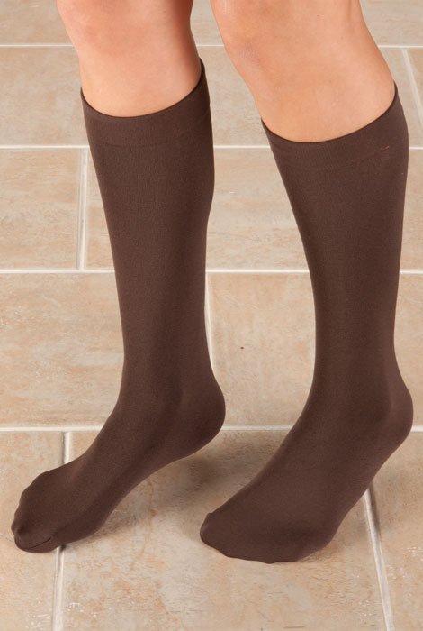 Fleece Lined Knee Highs - 2 Pairs