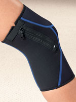 Leg & Knee Pain - Zippered Knee Wrap