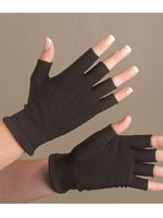 Shop Now - Carbon Technology Pain Checker™ Open Finger Gloves