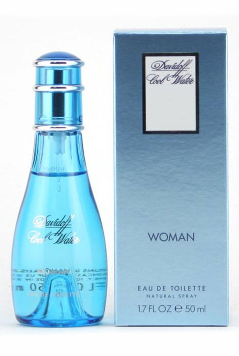 Cool Water Woman by Davidoff EDT Spray - View 1